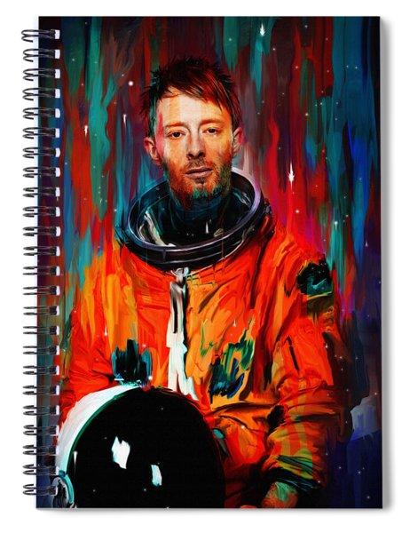 Thom Yorke Spiral Notebook