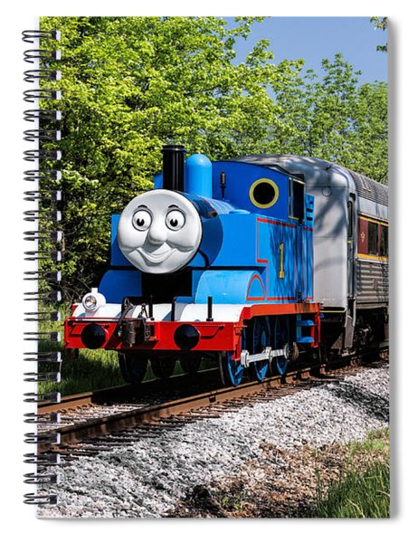 Thomas Visits The Cvnp Spiral Notebook