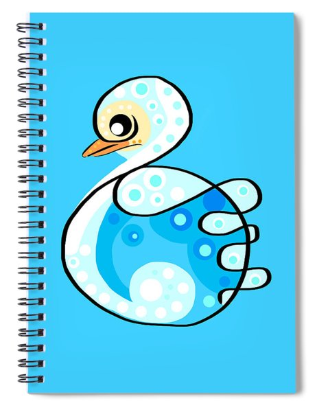 Thoughts And Colors Series Duckling Spiral Notebook