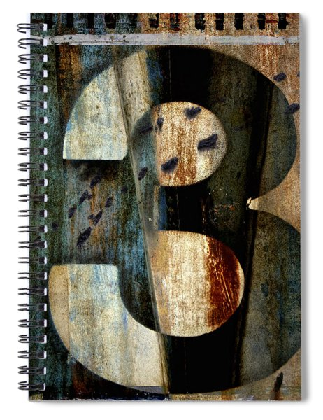 Three Along The Way Spiral Notebook