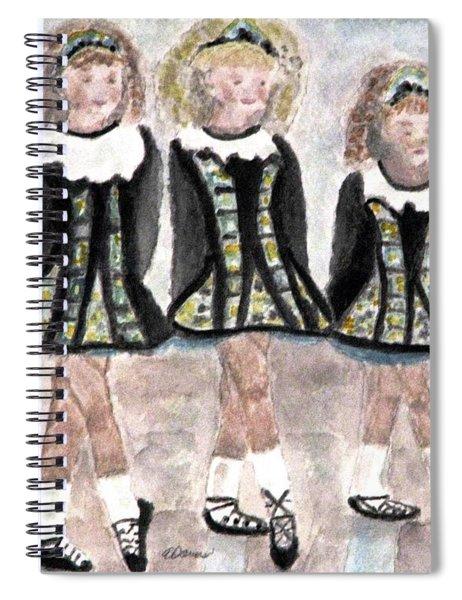 Three Irish Lasses Spiral Notebook
