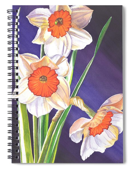 Three Jonquils Spiral Notebook