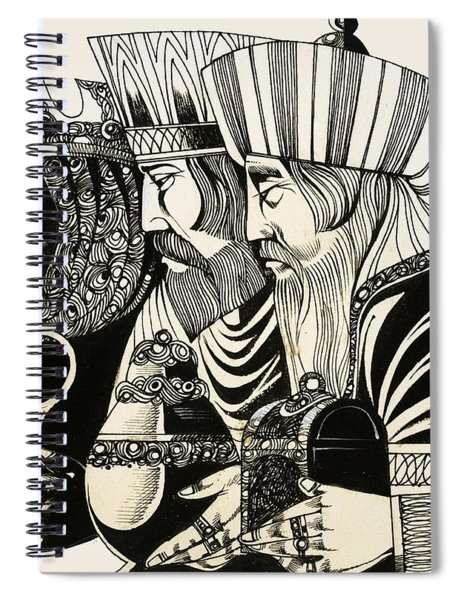 Three Kings Spiral Notebook