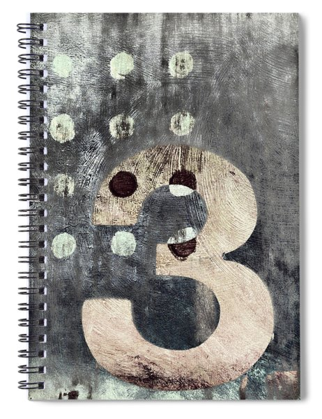 Three Painting Spiral Notebook
