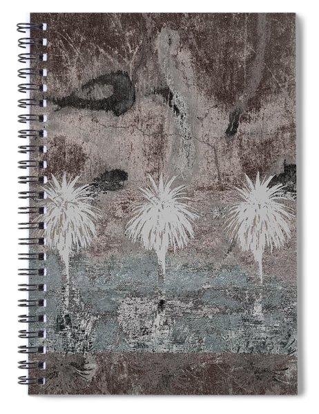 Three Palms Oasis Spiral Notebook