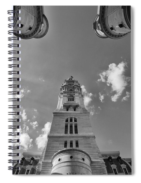Three Points Of Justice Spiral Notebook