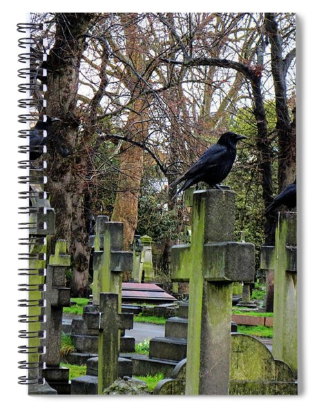 Three Ravens Spiral Notebook