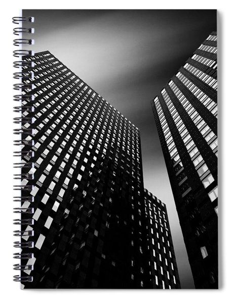 Three Towers Spiral Notebook