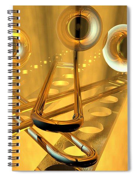 Three Trombones Spiral Notebook