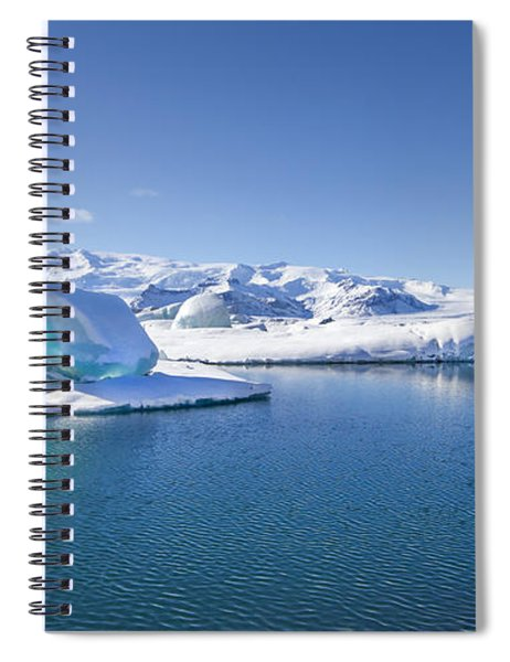 Throne Of Ice Spiral Notebook