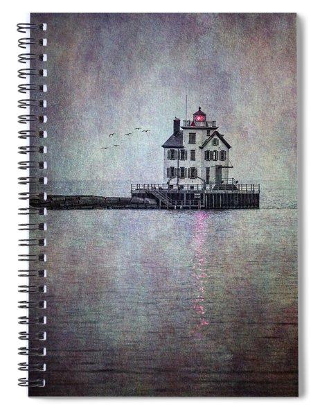 Through The Evening Mist Spiral Notebook