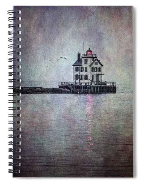Through The Evening Mist Spiral Notebook