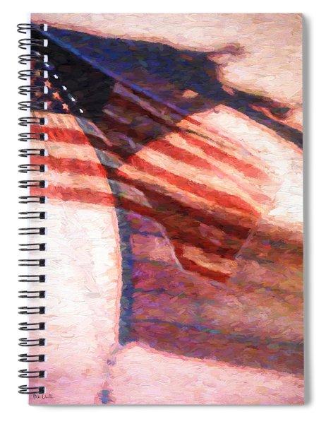 Through War And Peace Spiral Notebook