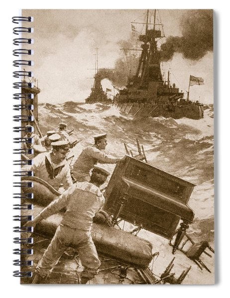 Throwing Overboard All Inflammable Luxuries When A Battleship Is Cleared For Action Spiral Notebook