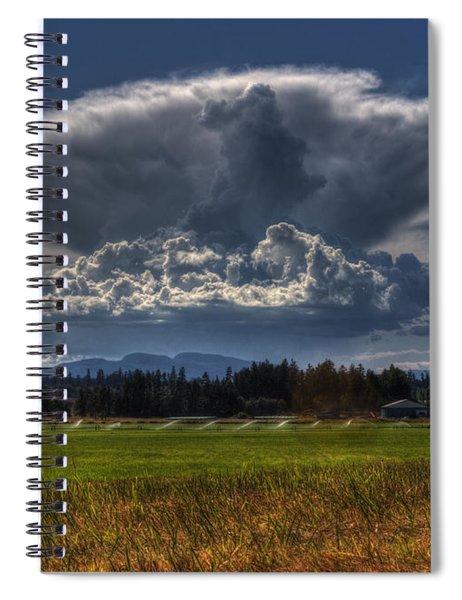 Thunder Storm Spiral Notebook