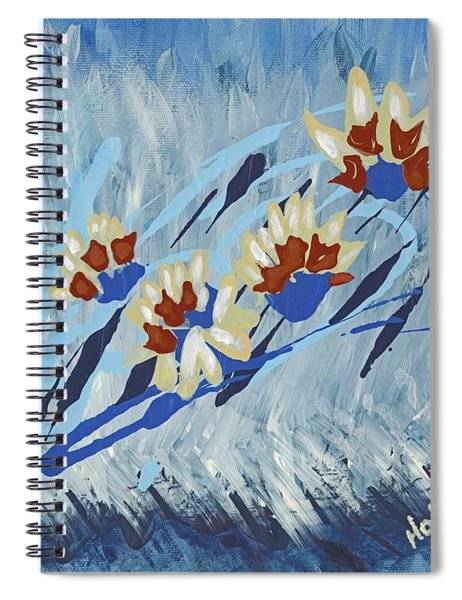 Thunderflowers Spiral Notebook