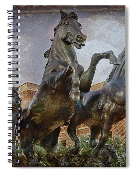 Thundering Mustangs Spiral Notebook