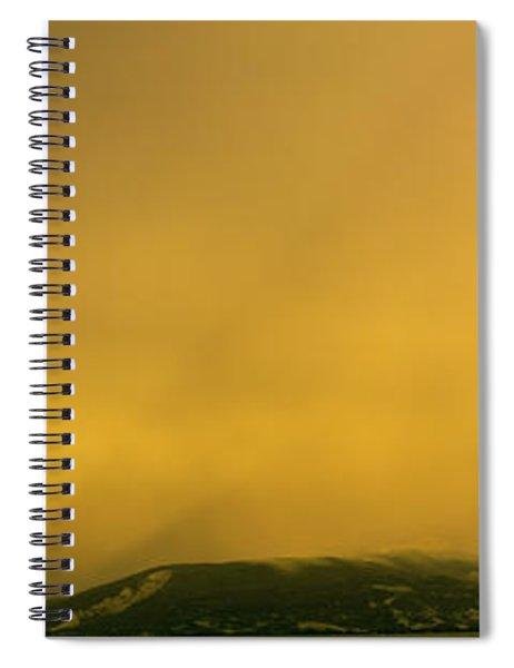 Thunderstorm, Jackson Hole, Grand Teton Spiral Notebook