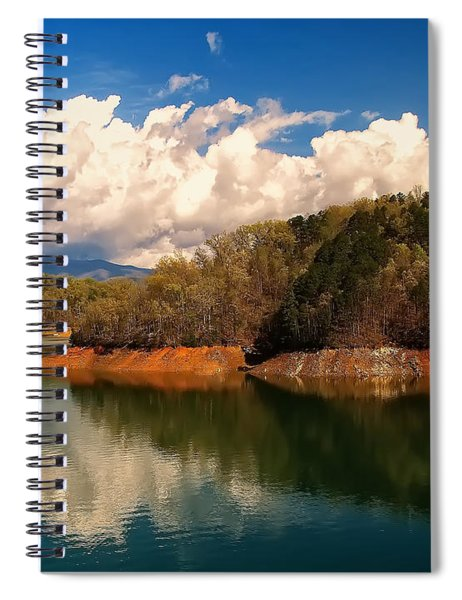 Thunderstorm Rolling Over The Smokies Spiral Notebook
