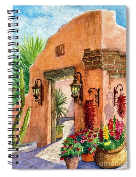 Tia Rosa Time Spiral Notebook