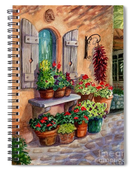 Tia Rosa's Place Spiral Notebook