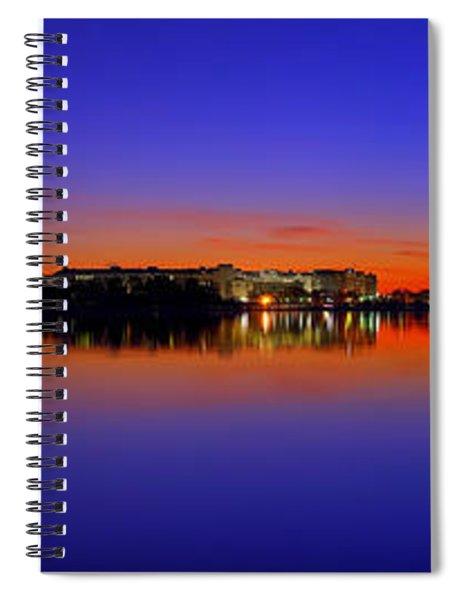 Tidal Basin Sunrise Spiral Notebook