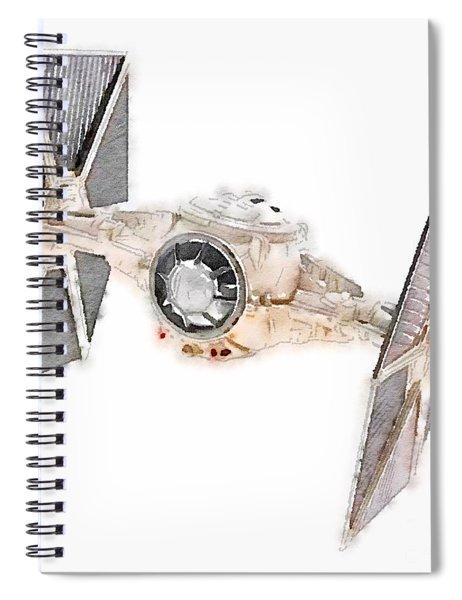 Tie Fighter Spiral Notebook