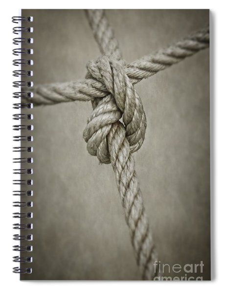 Tied Knot Spiral Notebook