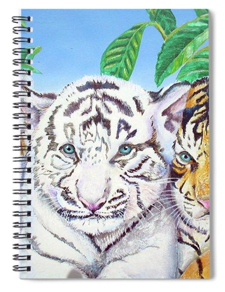 Tiger Cubs Spiral Notebook