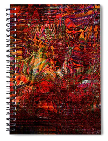 Tiger Glass Spiral Notebook
