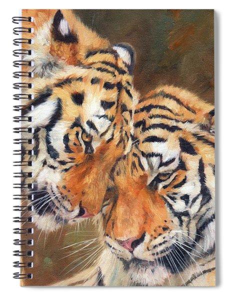 Tiger Love Spiral Notebook