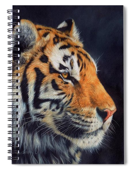 Tiger Profile Spiral Notebook