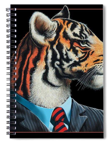 Tigerman Spiral Notebook