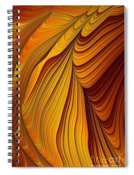 Tiger's Eye Spiral Notebook