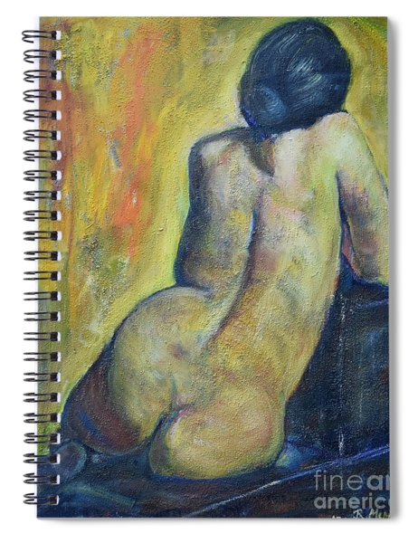 Tiina - Back Of Nude Woman Spiral Notebook