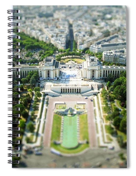 Tilted Reality Spiral Notebook