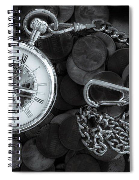 Time And Money Spiral Notebook