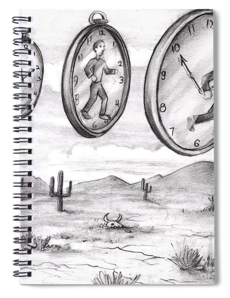 Time In To In Out Of Time Spiral Notebook