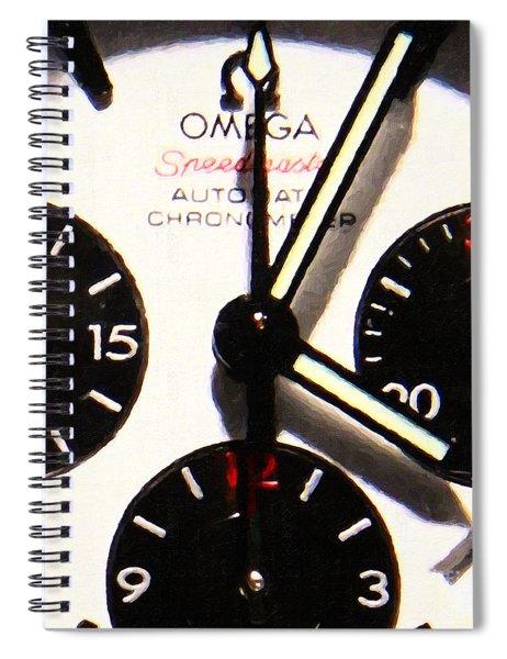Time Piece - 5d20658 Spiral Notebook