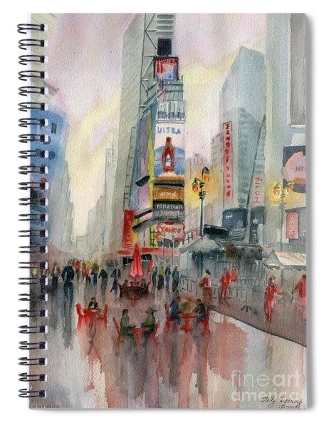 Time Square New York Spiral Notebook
