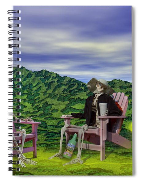 Time To Call A Doctor Spiral Notebook