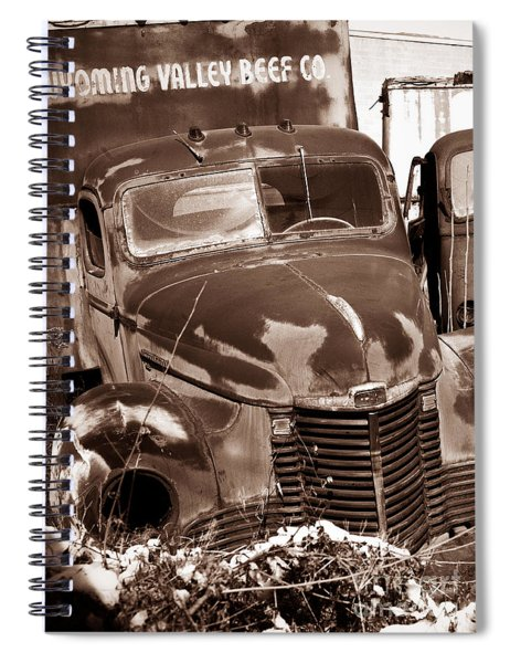 Time Traveler Pennsylvania Ave Wilkes Barre Pa Spiral Notebook