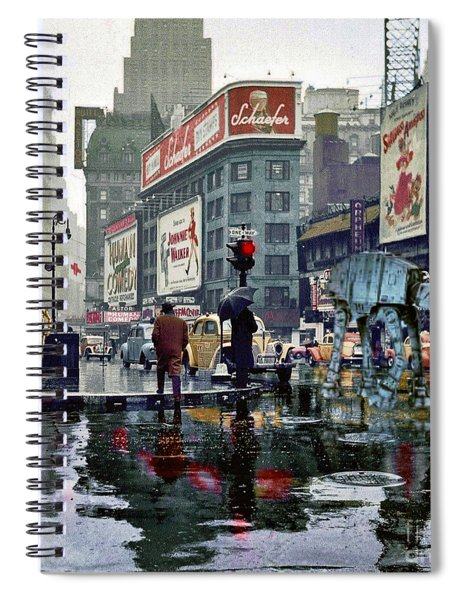 Times Square 1943 Reloaded Spiral Notebook