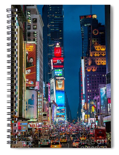 Times Square I Spiral Notebook