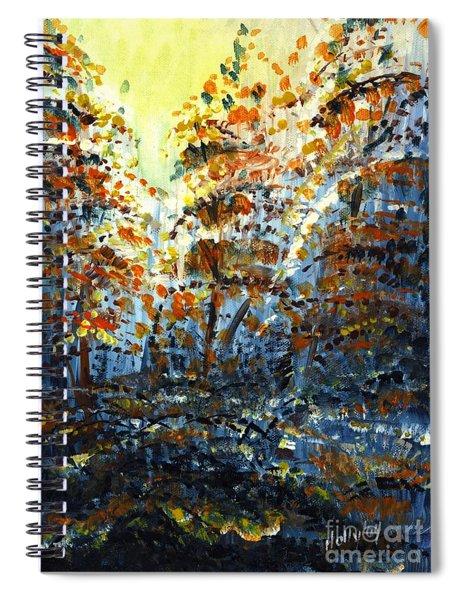 Tim's Autumn Trees Spiral Notebook