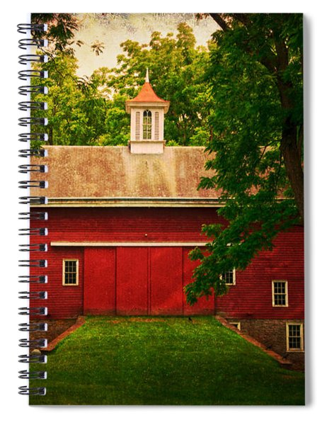 Tinicum Barn In Summer Spiral Notebook