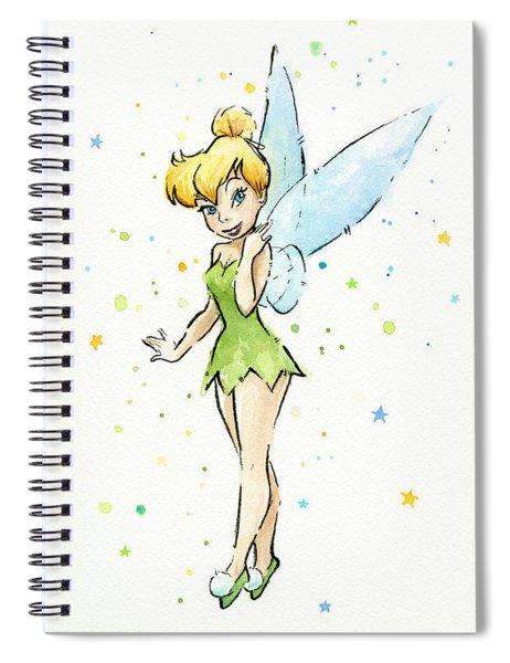 Tinker Bell Spiral Notebook