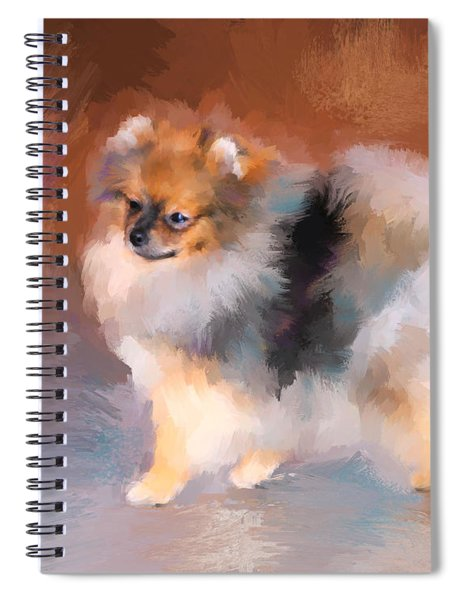 Tiny Pomeranian Spiral Notebook