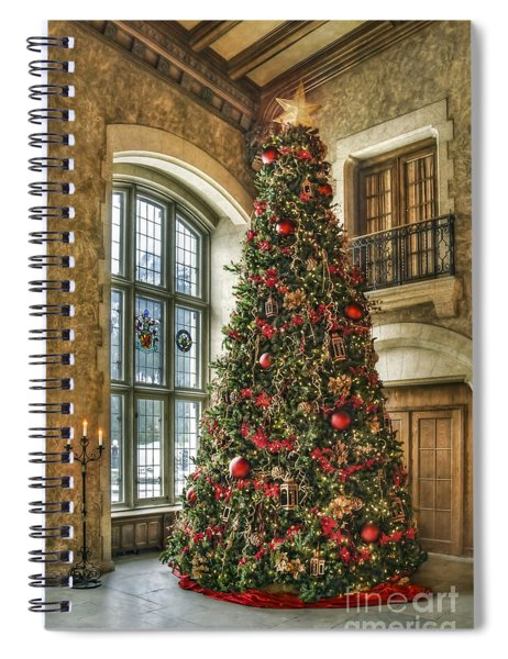 Tis The Season Spiral Notebook by Evelina Kremsdorf