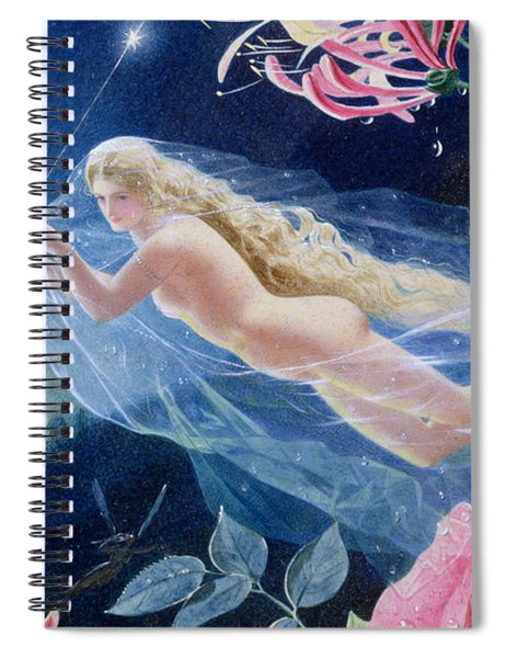 Titania Flying Spiral Notebook